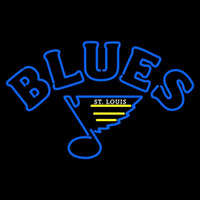 St Louis Blues Primary 1984 85 1986 87 Logo NHL Neon Sign Neon Sign