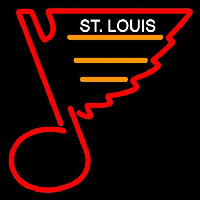 St Louis Blues Primary 1987 88 1997 98 Logo NHL Neon Sign Neon Sign