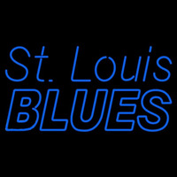 St Louis Blues Wordmark 1967 68 1983 84 Logo NHL Neon Sign Neon Sign
