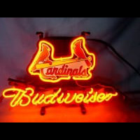 St Louis Cardinals Baseball Beer Neon Light Sign Neon Sign