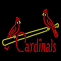 St Louis Cardinals Jersey 1951 1955 Logo MLB Neon Sign Neon Sign