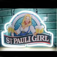 St Pauli Girl Neon Sign