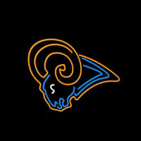 St. Louis Rams Los Angeles Rams NFL Neon Sign Neon Sign