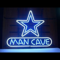 Star MAN CAVE Neon Sign