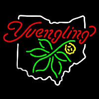 State Of Ohio Yuengling Beer Sign Neon Sign