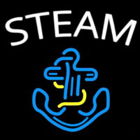 Steam Neon Sign