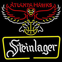 Steinlager Atlanta Hawks NBA Beer Sign Neon Sign