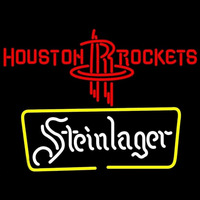 Steinlager Houston Rockets NBA Beer Sign Neon Sign