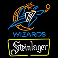 Steinlager Washington Wizards NBA Beer Sign Neon Sign