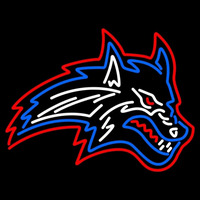 Stony Brook Seawolves Secondary 1998 2007 Logo NCAA Neon Sign Neon Sign