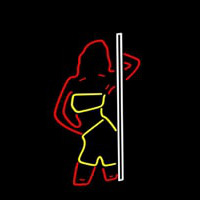 Strip Girl Neon Sign
