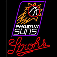 Strohs Phoenix Suns NBA Beer Sign Neon Sign