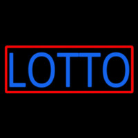 Stylish Lotto Neon Sign