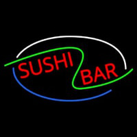 Stylish Sushi Bar Neon Sign