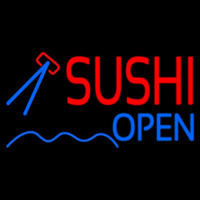 Sushi Open Neon Sign