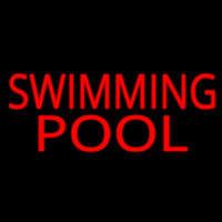 Swimming Pool Neon Sign