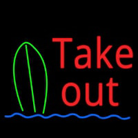 Take Out Bar Neon Sign