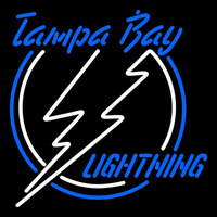 Tampa Bay Lightning Primary 1992 93 2000 01 Logo NHL Neon Sign Neon Sign