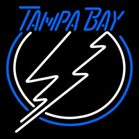 Tampa Bay Lightning Primary 2007 08 2010 11 Logo NHL Neon Sign Neon Sign