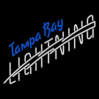 Tampa Bay Lightning Wordmark 1992 93 2000 01 Logo NHL Neon Sign Neon Sign