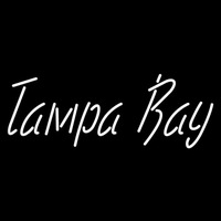 Tampa Bay Lightning Wordmark 1998 99 2006 07 Logo NHL Neon Sign Neon Sign
