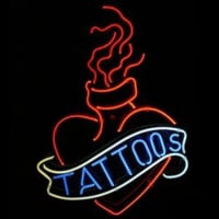 Tattoos Neon Sign