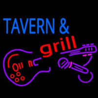 Tavern And Grill Guitar Neon Sign