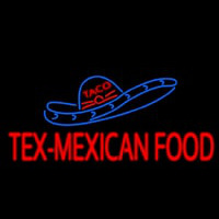 Te  Me ican Food Neon Sign
