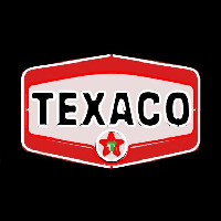 Te aco Gasoline Logo Neon Sign