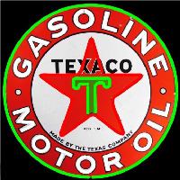 Te aco Gasoline Neon Sign