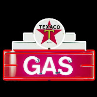 Te aco Logo Gas Neon Sign