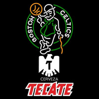 Tecate Boston Celtics NBA Beer Sign Neon Sign