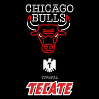 Tecate Chicago Bulls NBA Beer Sign Neon Sign