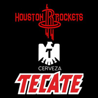 Tecate Houston Rockets NBA Beer Sign Neon Sign