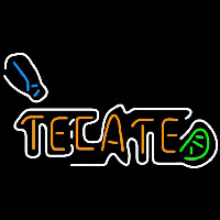 Tecate Shaker And Lime Beer Sign Neon Sign