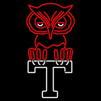 Temple Owls Primary 1960 1971 Logo NCAA Neon Sign Neon Sign