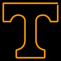 Tennessee Volunteers Primary 1967 1982 Logo NCAA Neon Sign Neon Sign