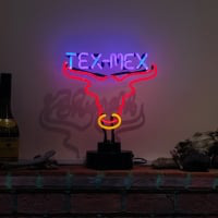 Tex Mex Desktop Neon Sign