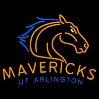 Texas Arlington Mavericks Primary 2007 Pres Logo NCAA Neon Sign Neon Sign