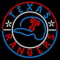 Texas Rangers Baseball Hat MLB Neon Sign Neon Sign
