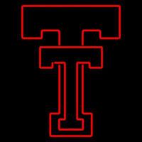 Texas Tech Red Raiders Primary 1963 1999 Logo NCAA Neon Sign Neon Sign