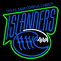 Texas a and M Cc Islanders Primary 2004 Pres Logo NCAA Neon Sign Neon Sign