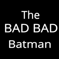 The Bad Batman Neon Sign
