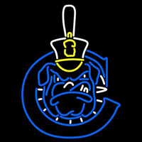 The Citadel Bulldogs Neon Sign Neon Sign