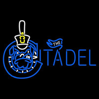 The Citadel Bulldogs Primary 2006 Pres Logo NCAA Neon Sign Neon Sign