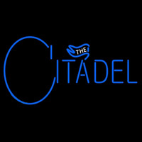 The Citadel Bulldogs Wordmark 2006 Pres Logo NCAA Neon Sign Neon Sign