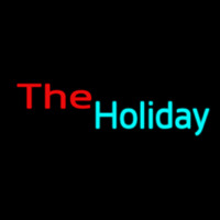 The Holiday Neon Sign