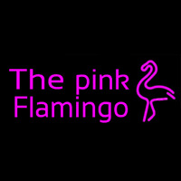 The Pink Flamingo Neon Sign