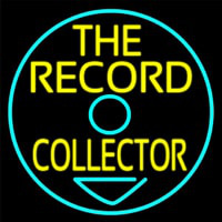 The Record Collector Neon Sign
