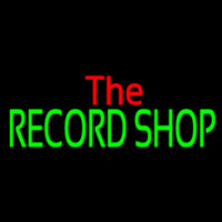 The Record Shop Block 1 Neon Sign